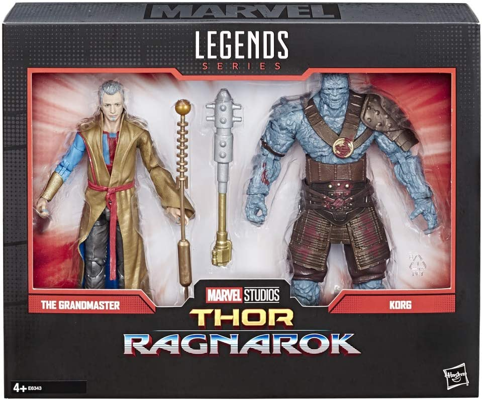 Marvel Legends - 80 aniversario Grandmaster & Korg (Hasbro ...