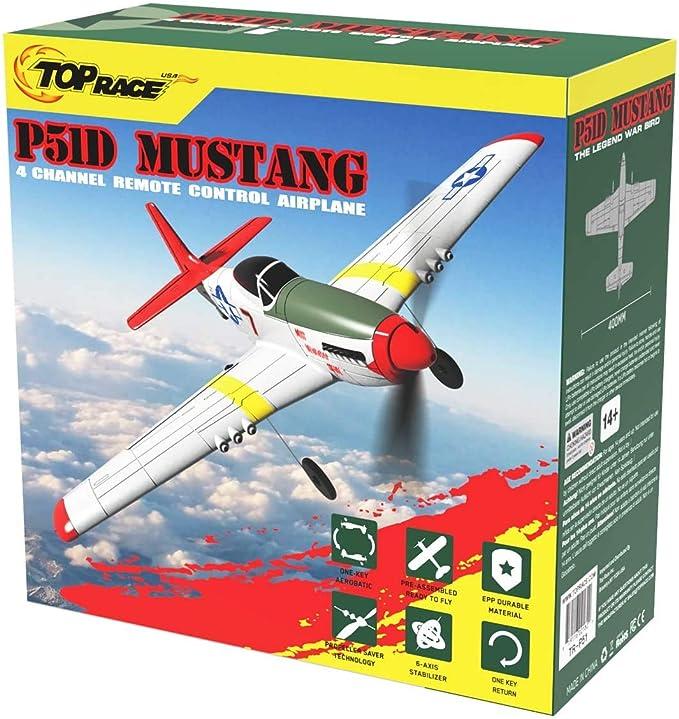 Goolsky FX815 RC Avi/ón Control Remoto Avi/ón Listo para Volar 2.4Ghz 2 Canales EPP Foam Aircraft Modelo para ni/ños Adultos