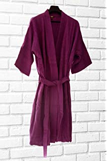 Avioni Unisex Loomkart Cotton Bath Robes with Hood in Zip-Packing ... 9d271c0d1
