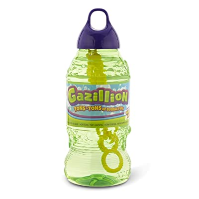 Gazillion Bubbles 2 Liter Solution: Toys & Games