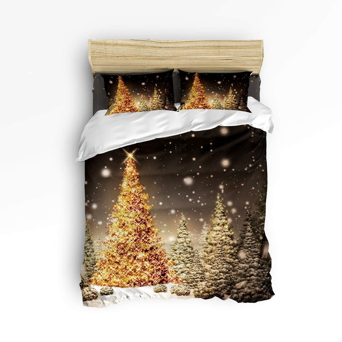 Plelat ソフト寝具4点セット 布団カバーセット 子供用 かわいい猫 動物柄 ベッドシーツセット 掛け布団カバー1枚 フラットシーツ1枚 枕カバー2枚 ツイン 20181122WHLPLTSJTSJSLXM03703SJTAPLT B07KS7RHTF Christmas 2452lplt4238 ツイン