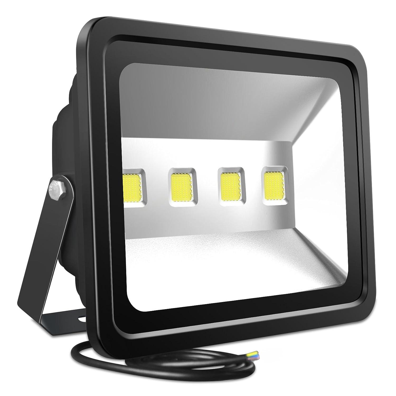 Atoechie 200w led flood light fixtures outdoor lighting cool white 6000k 20 000 lumens waterproof ip65 security light liftetime 50