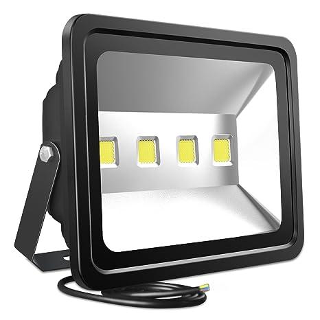 Atoechie 200w Led Flood Light Outdoor Lighting Fixtures Cool White 6000k 20 000 Lumens Waterproof Ip65 Security Light Lifetime 50 000 Hours