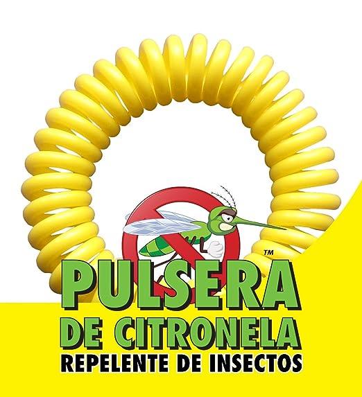 Amazon.com: Pulsera de Citronela: Repelente de Insectos (20): Health & Personal Care