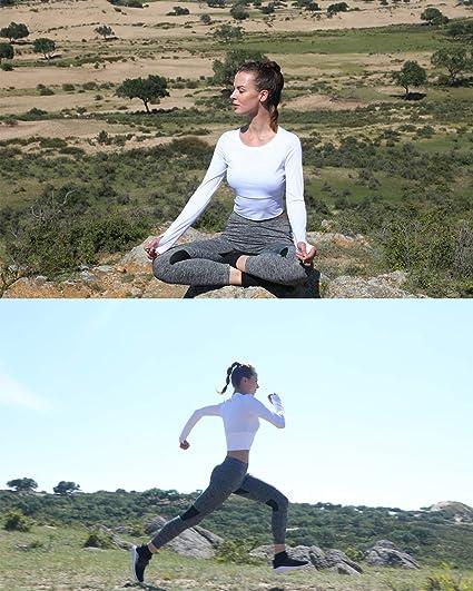 Free Amazon Promo Code 2020 for Women High Waisted Mesh Insert Yoga Leggings
