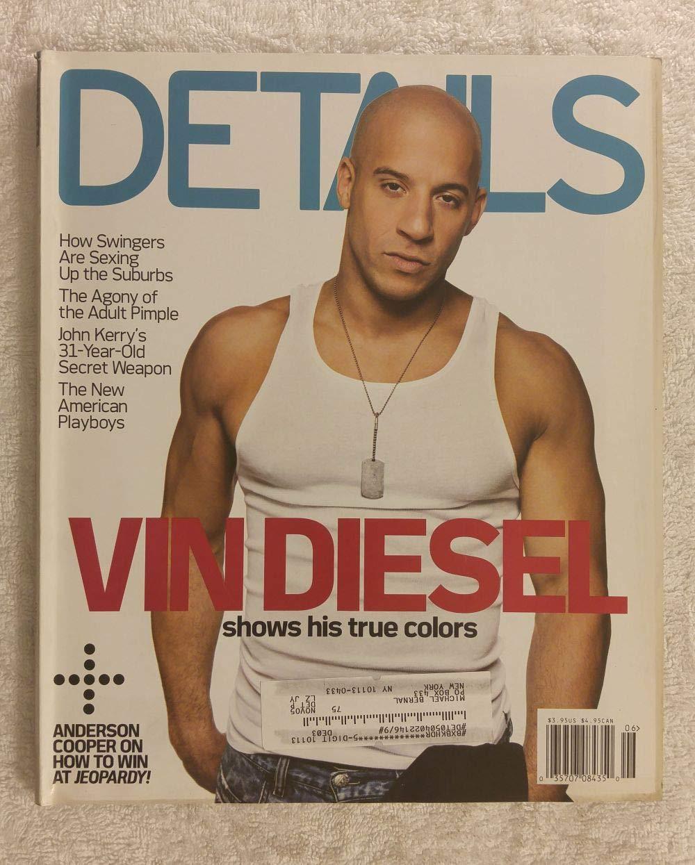 Vin Diesel - Shows His True Colors - Details Magazine - June