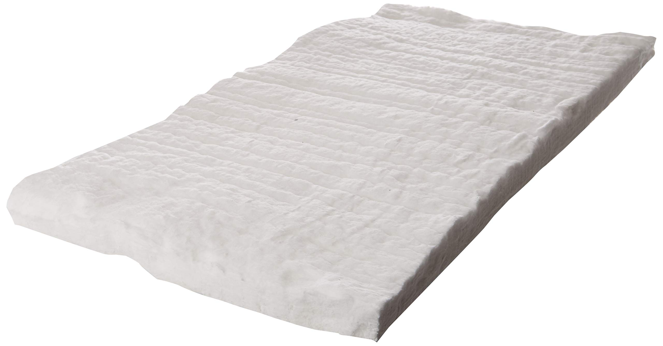 Ceramic Fiber Blanket - Insulation 24'' X 12'' X 1'' for Wood Stoves, Pizza Ovens, Kilns, Forges & More - 6# Pound 2300 Degrees by CeramaFiber