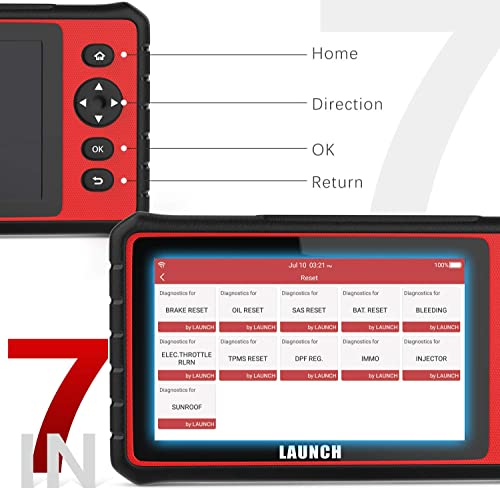 Launch CRP909 comes to different manufacturers, supporting more than 80 brands worldwide