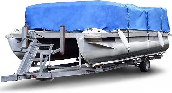 Budge P 1200 2 1200 Denier Pontoon Cover Blue Size Pt3 20 To 24 Long Waterproof Heavy Duty Uv Resistant