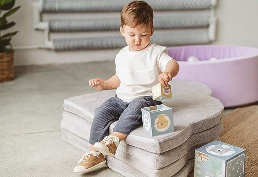 Non-Slip Cotton Gym Spielmatte F/ür Kinder Schlafzimmer-Dekor Wohnzimmer Teppiche Cute PoeticHouse Baby Crawling Baumwolle Matten Kinderspiel Wolke Shaped Baumwolle Matten