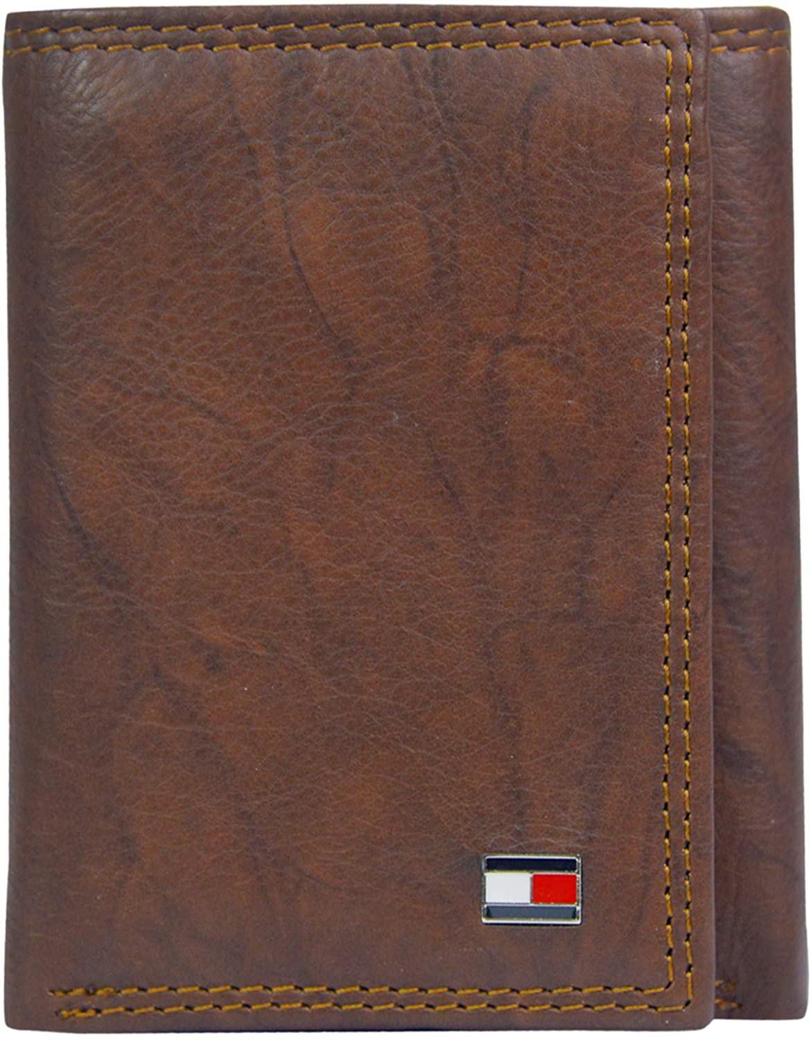 Tommy Hilfiger Men's Trifold Wallet-Sleek and