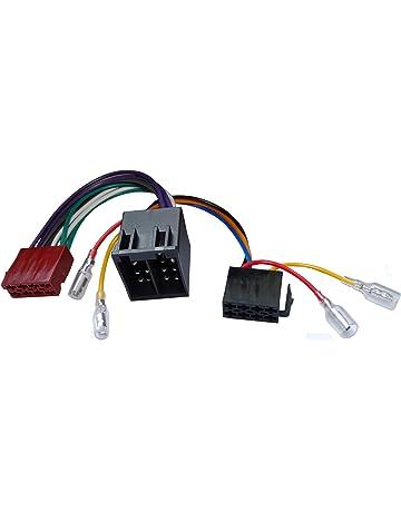 AERZETIX: Extension 20cm conector enchufe ISO 13PIN 8+5 para autoradio precableado universal potencia