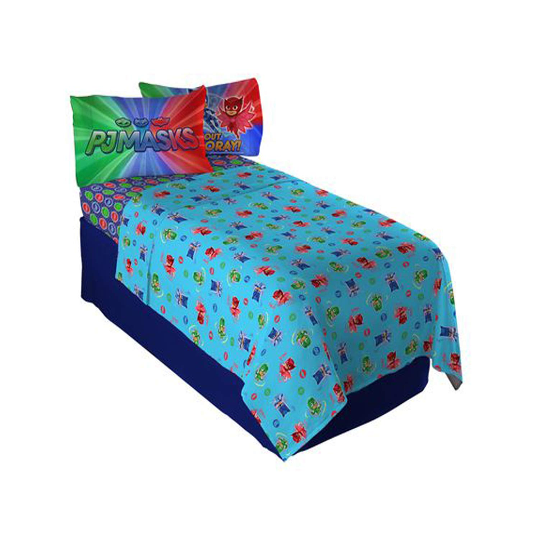 Twin PJ Masks Kids Twin Bedding Sheet Set