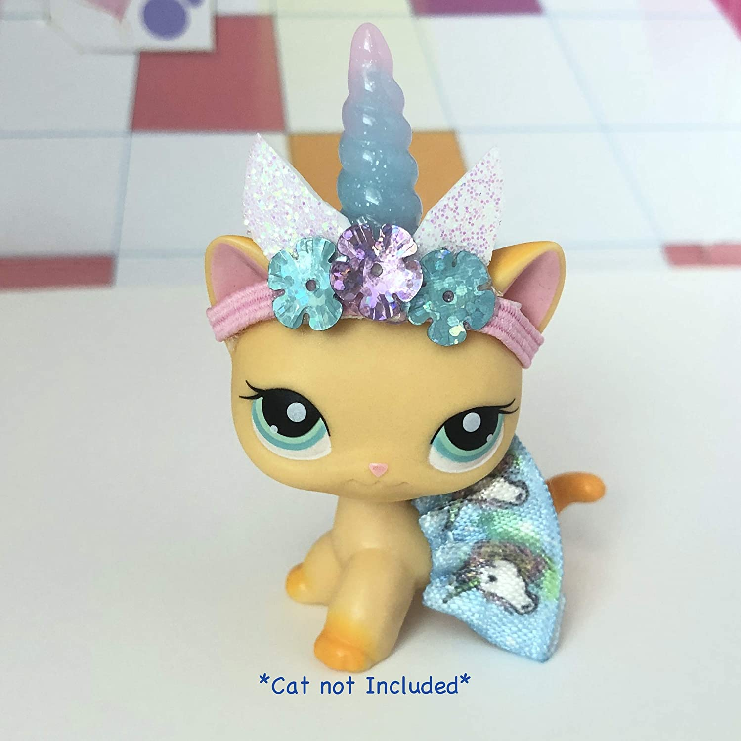 LPS Littlest Pet Shop Clothes Unicorn Skirt Outfit LOT CAT Not included