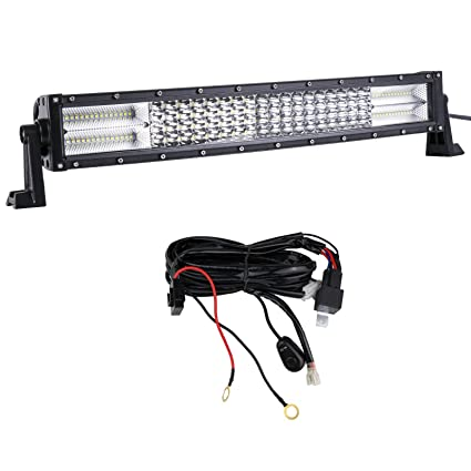 22inch 120w Led Combo Work Light Bar Off Road Suv Ute Jeep With Wiring Harness Ppid Tabanankab Go Id