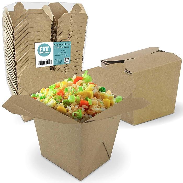 Top 10 Brown Paperboard Food Boxes