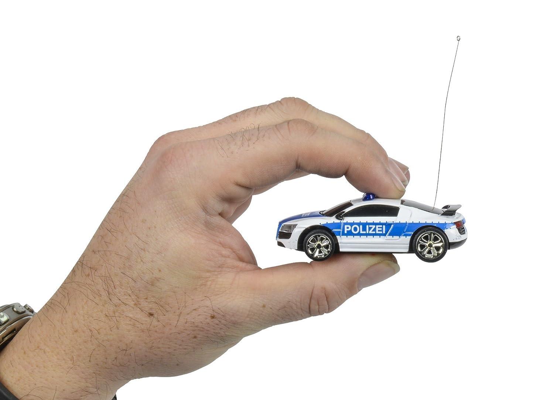 Carson 500404118 1:60 Nano Racer Polizei 40 MHz Fahrzeug