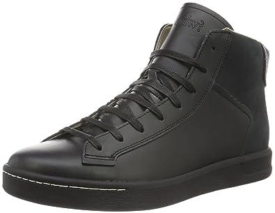 OHW? Hawkins, Chaussures Bateau Homme, Noir (Black), 43 EU