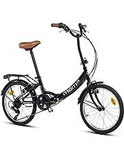 Moma bikes First Class Blanca, Bicicletta Pieghevole Unisex Adulto, Unic Size