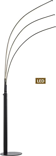 Artiva USA LED806108FB Aurora 39W LED Arched Floor Lamp