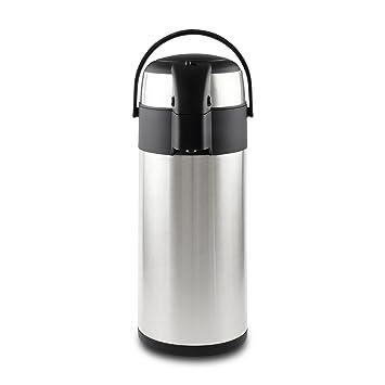 Pioneer Flasks Airpot Pumpkanne, 5 Liter, Edelstahl, ideal für heiße ...