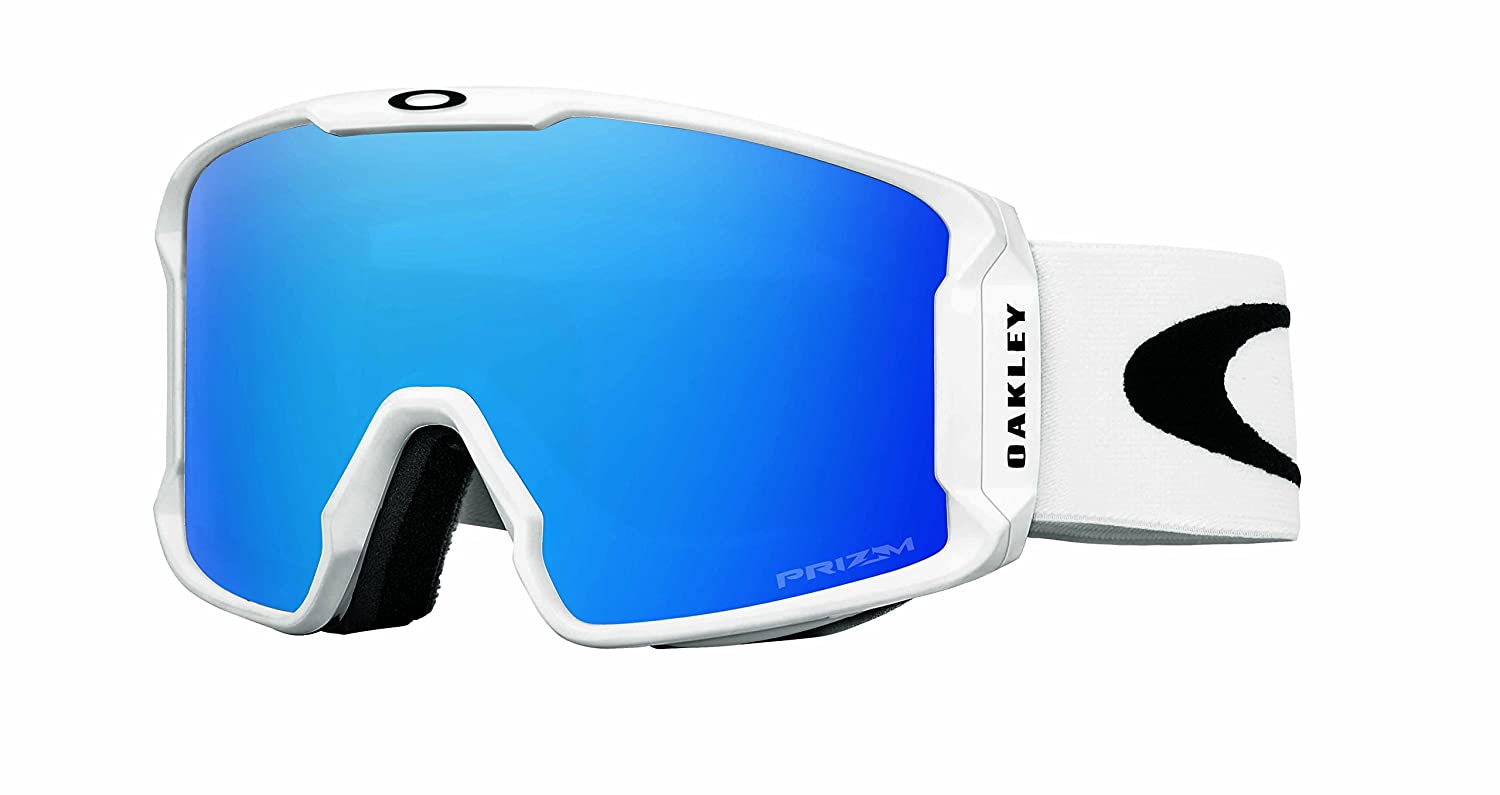 f8971b91685f Buy oakley mens line miner snow inferno goggles matte white prizm sapphire  iridium large online at