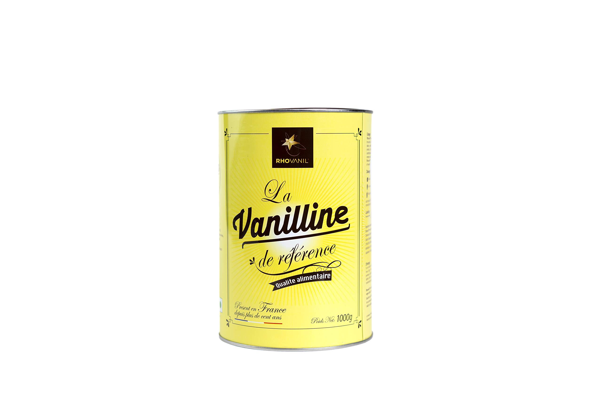 Vanillin Powder Rhovanil 1kg by Solvay Rhovanil Vanillin (Image #1)
