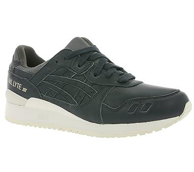 cf5aca9c46dc6 Asics Gel-Lyte III Hommes Sneaker en Cuir véritable Gris H7M4L 9595 ...