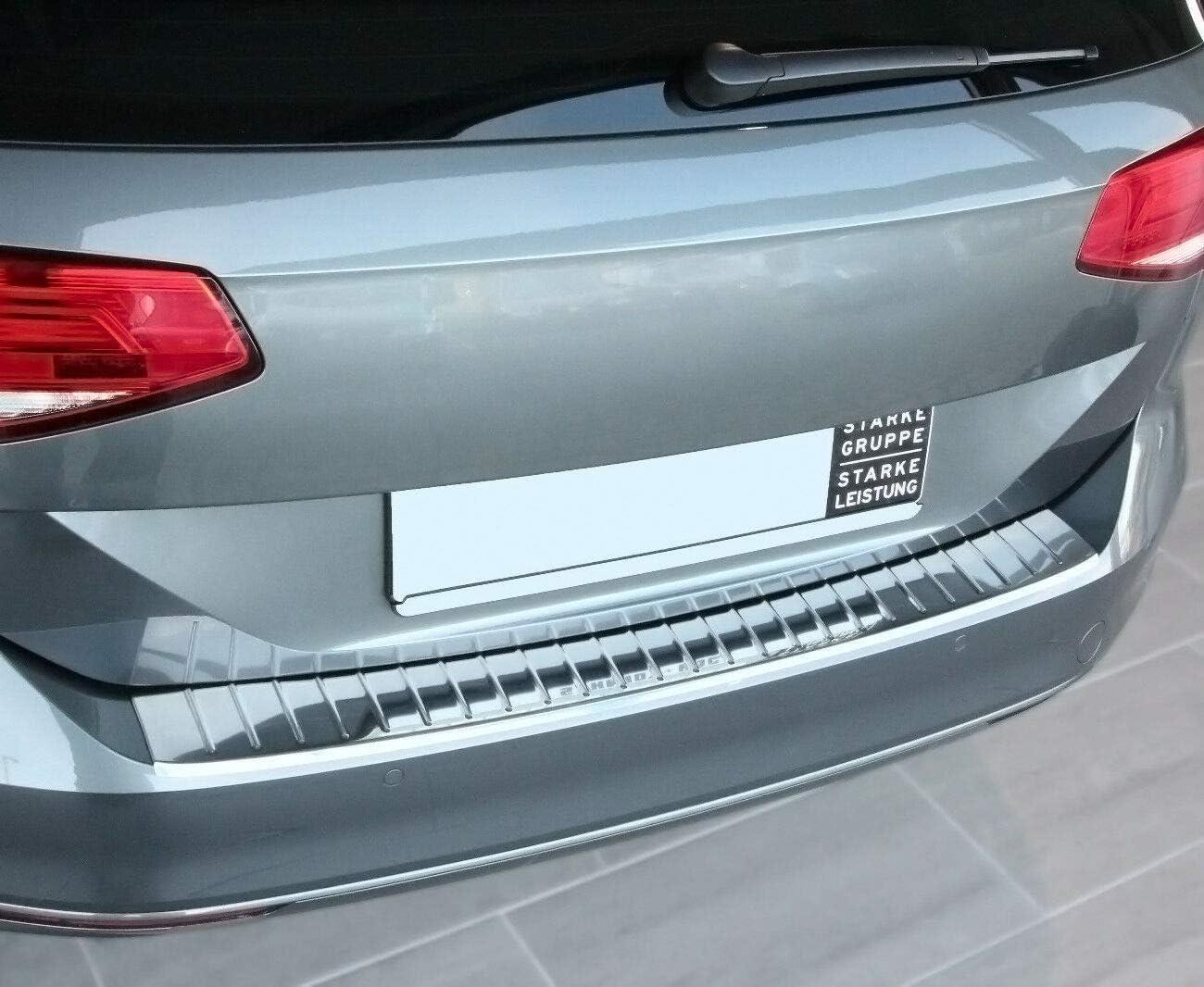 Recambo CT-LKS-2410 Protection de seuil de Chargement en Acier Inoxydable Poli pour VW Passat B8 Variant Vieux Cadre /à partir de 2014 Grand Format
