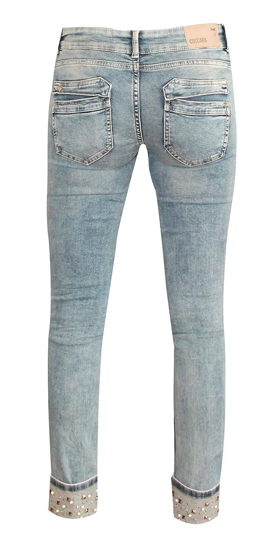 Coccara Jeans Damen Curly Women/'s Denim CD117706
