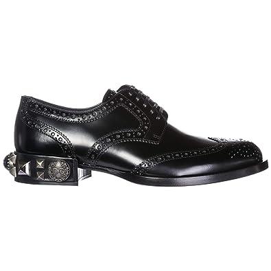 À Dolce Femme Lacets Derby amp; Gabbana Chaussures En Cuir Classiques Orwrtxn