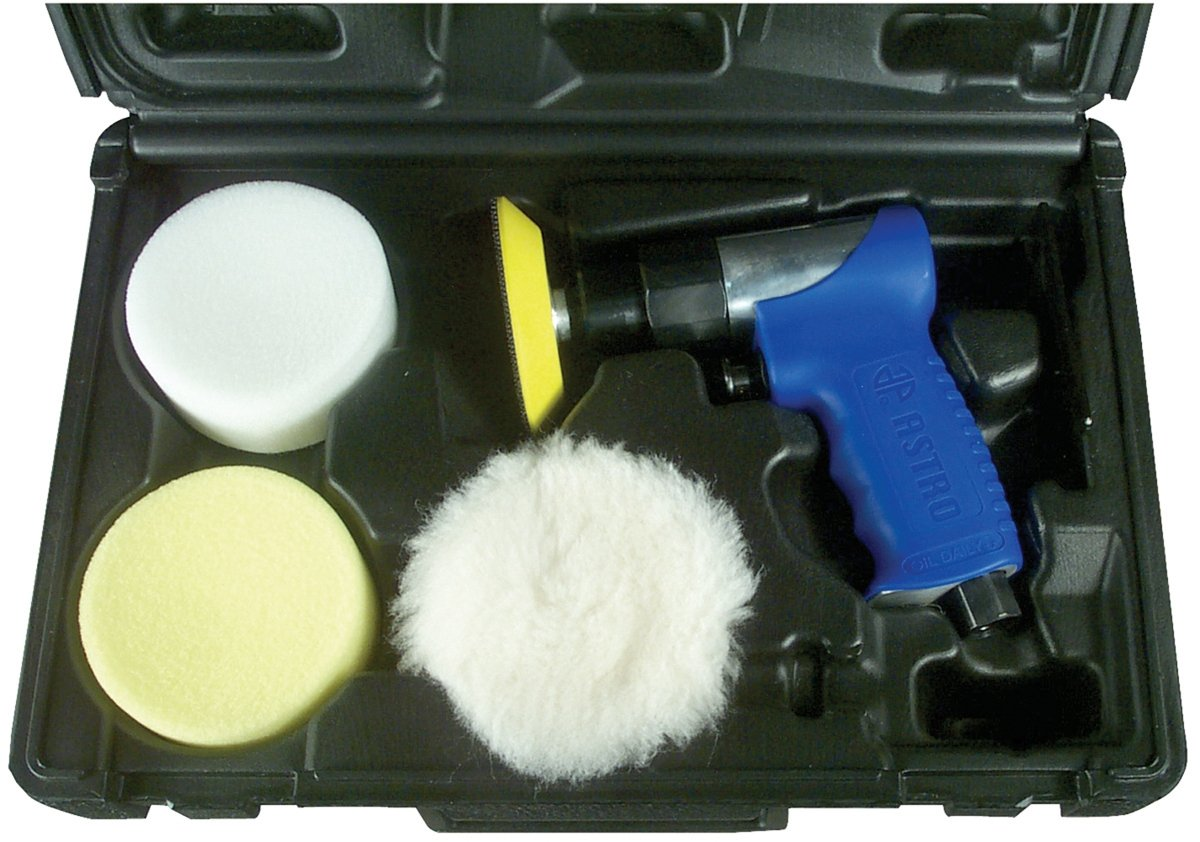 Astro 3055 3-Inch Mini Air Polishing Kit by Astro Pneumatic Tool