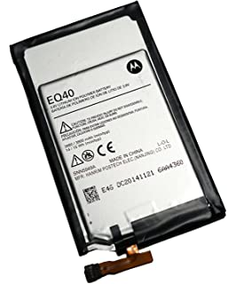 UoUo EQ40 Battery Replacement For Motorola Droid Turbo Verizon XT1254 XT1225 3.8V 3680mAh Li-