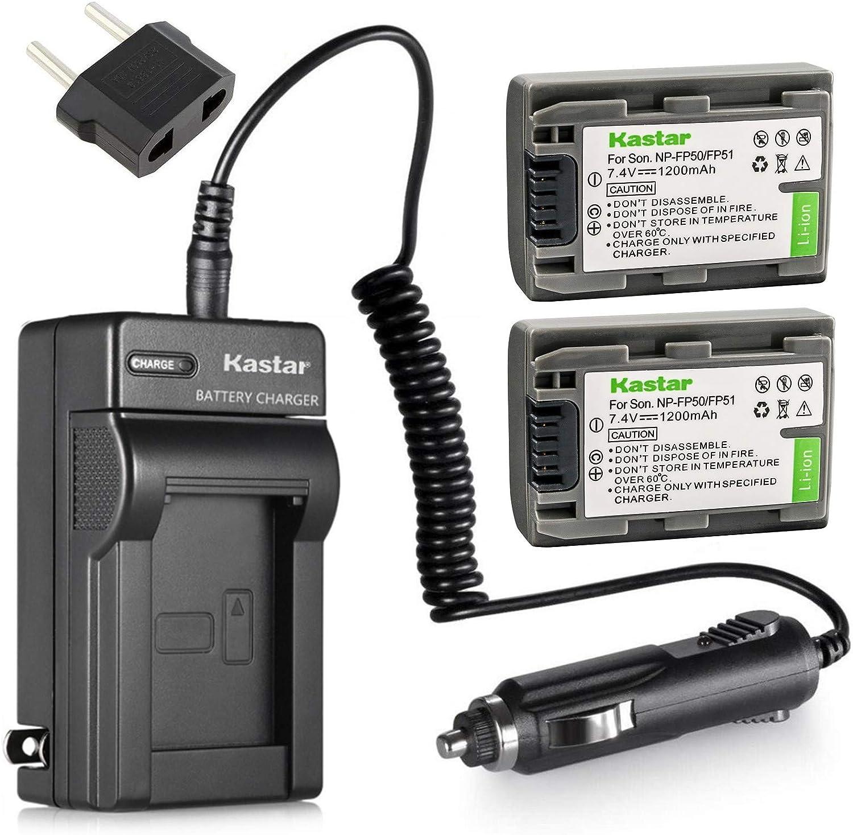DCR-DVD203E LCD USB Travel Battery Charger for Sony DCR-DVD202E DCR-DVD205E Handycam Camcorder