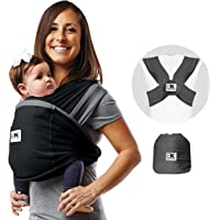 Baby K'tan Active Oasis Baby Carrier – No-Wrap Hygienic Baby Wrap with HeiQ V-Block Fabric - Simple Pre-Wrapped Infant…