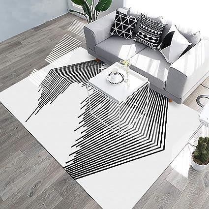 Amazon.com: YAMTION Living Room Rugs, 5.3\'x 8 Modern Multi-Function ...