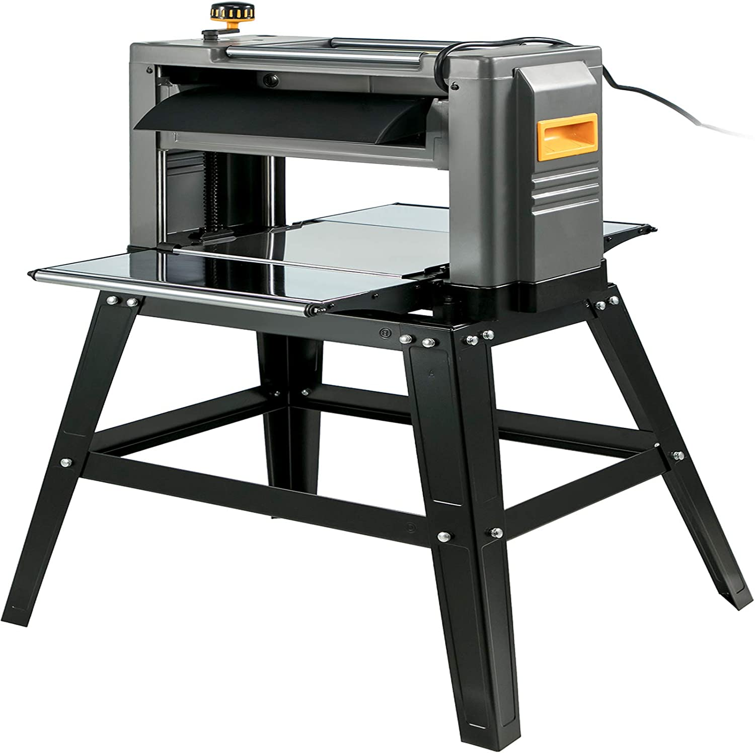 Amazon Com Mophorn Thickness Planer 12 5inch Thickness Planer Woodworking 1500w Double Cutter Benchtop Thickness Planer 15 Amp With Stand Heavy Duty Dust Exhaust For Woodworking Home Improvement