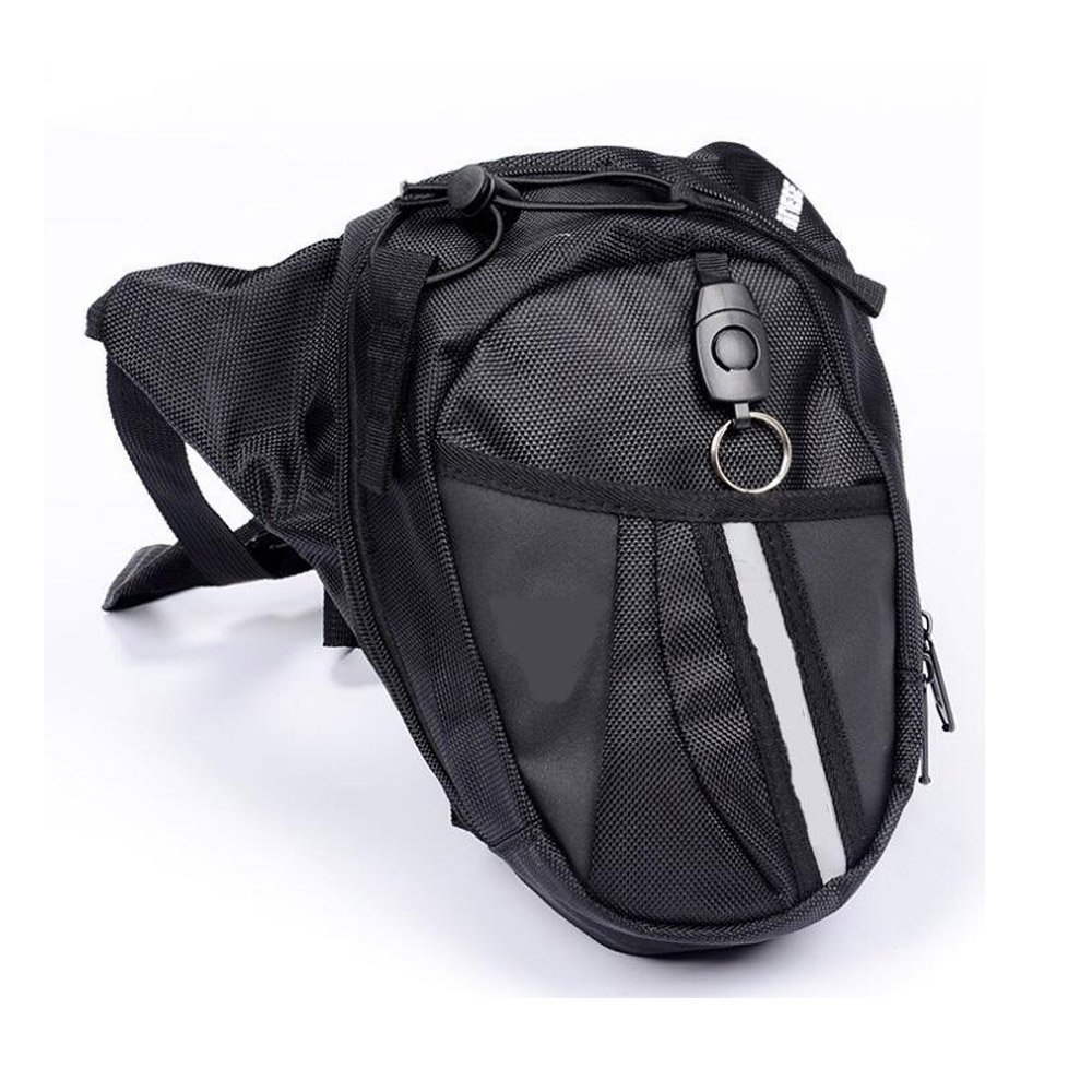 Grow0606 Motorcycle Riding Waterproof Drop Leg Bag Outdoor Cycling Hiking Travel Tactical Waist Pack