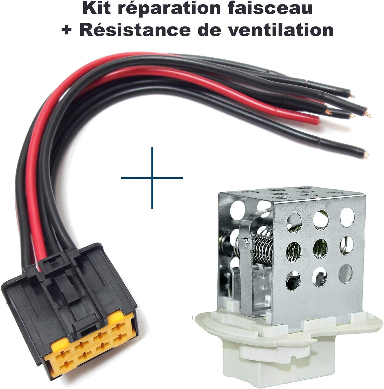 Reparatur Set Kabelbaum Elektrischer Stecker Anschlussstecker Plug Adapter Widerstand Klimaanlage Master 2 7701057557 4415550 93181462 27100 00qab 740151n 150062110 Auto