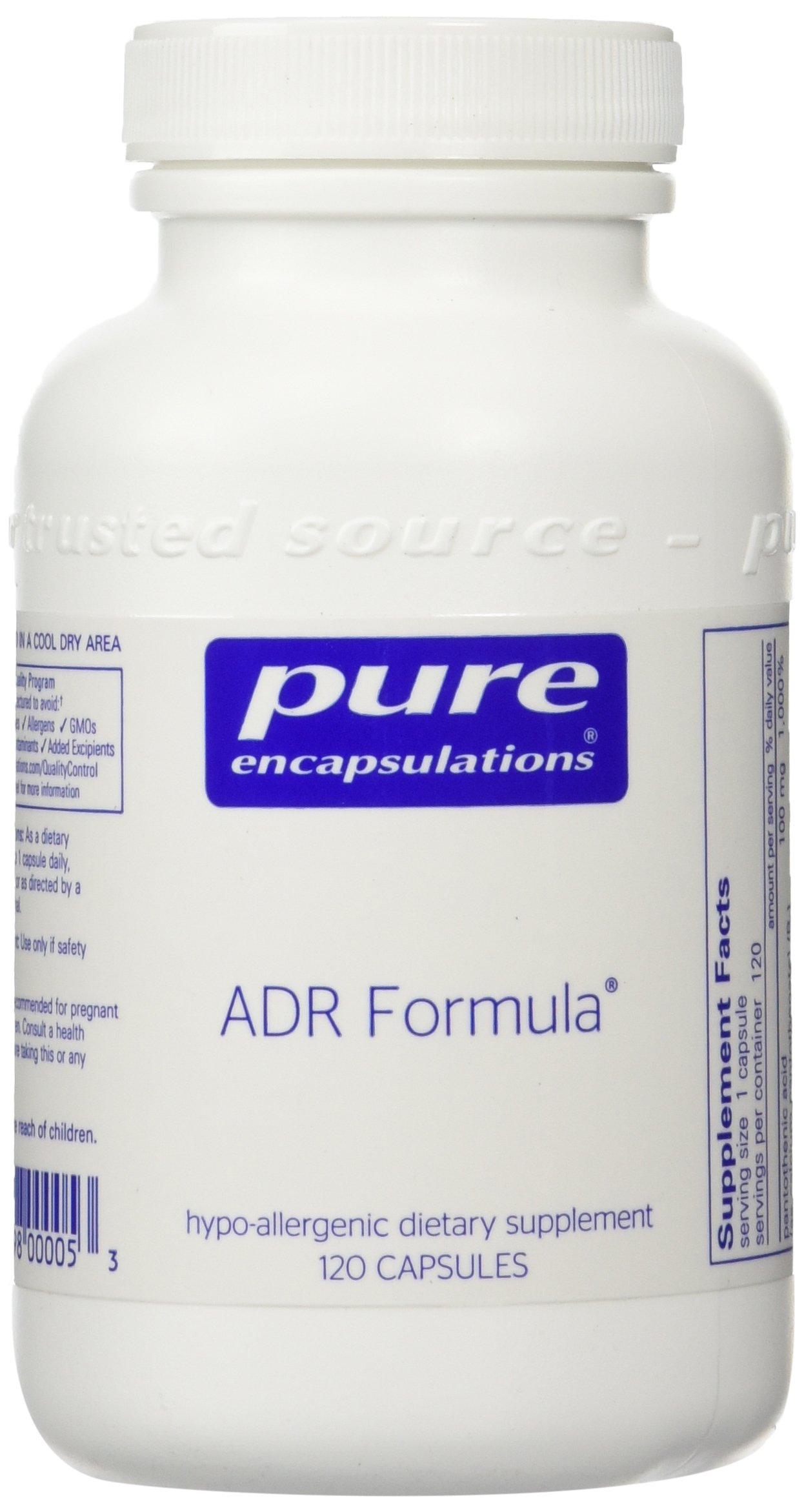 Pure Encapsulations - ADR Formula - 120ct