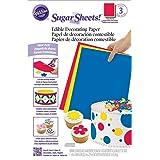 Wilton 710-2912 Multipack Sugar Sheets
