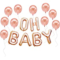 Ready to Pop Gold Balloons,Ready to Pop Letter Balloons,Baby Shower Balloons,Gender Reveal Balloons,Pregnancy Announcement,Baby On The Way