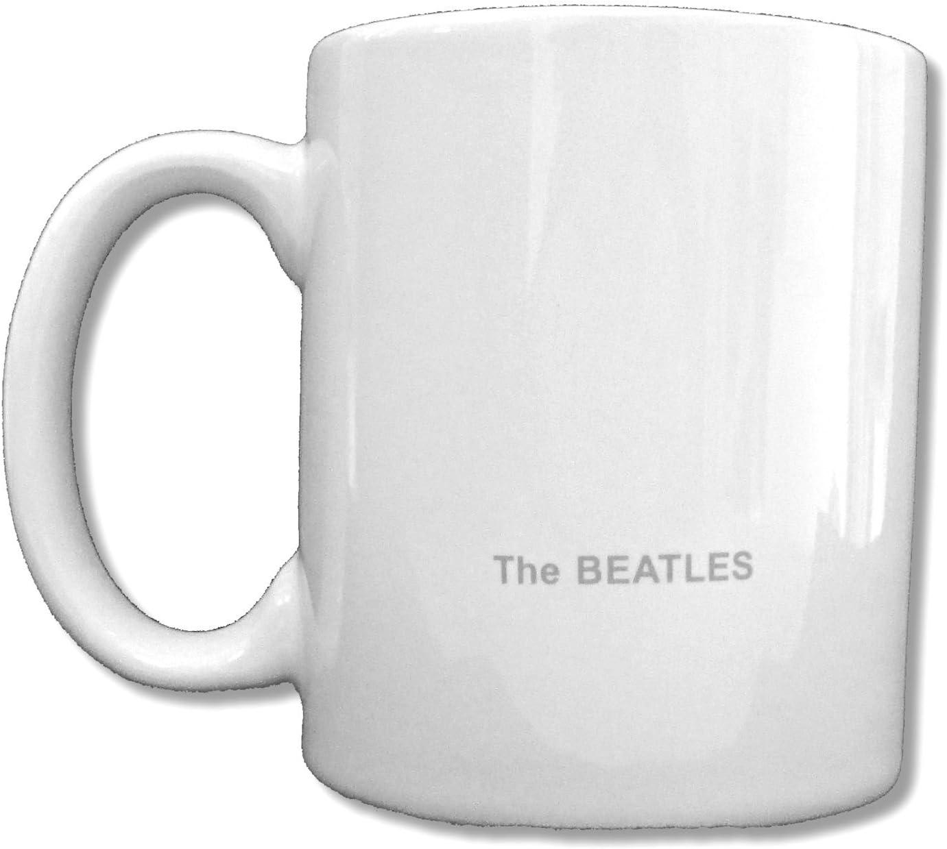 Beatles White Album White Ceramic Collectible Coffee Mug