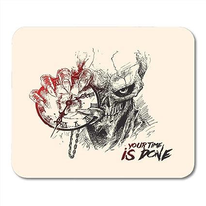 Amazon Com Boszina Mouse Pads Monster Tattoo Scratch Devil Skull