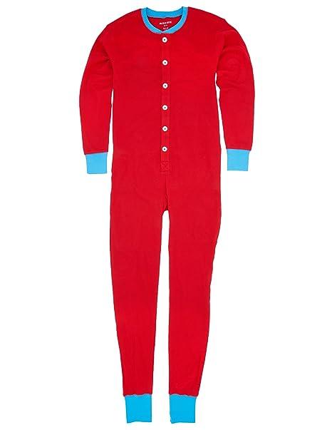 Amazon.com: Hatley Unión Hombres Adultos traje rojo Ski Bum ...