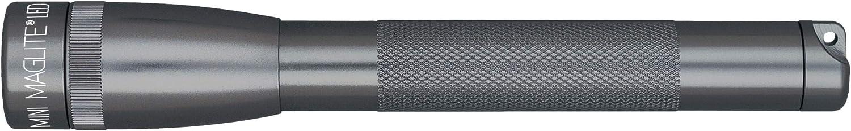 LED ad alta prestazione Mag-Lite SP22097F 17 cm colore: Titanio//Grigio 2 batterie AA e custodia incluse Torcia mini multimode