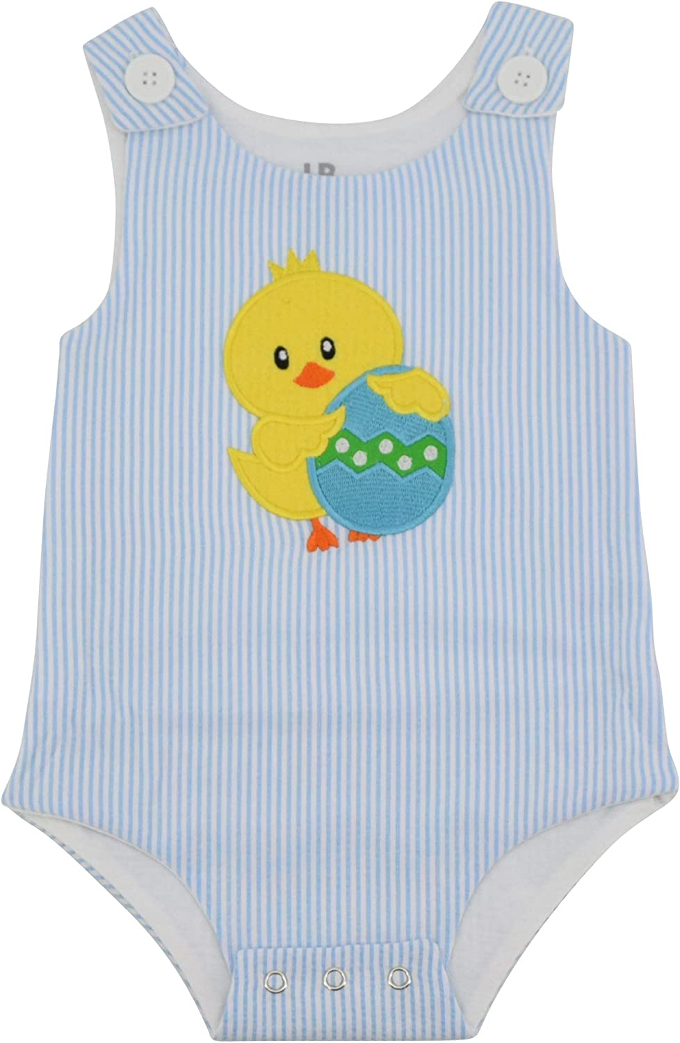 Unique Baby Boys Easter Chick Jon Jon Outfit