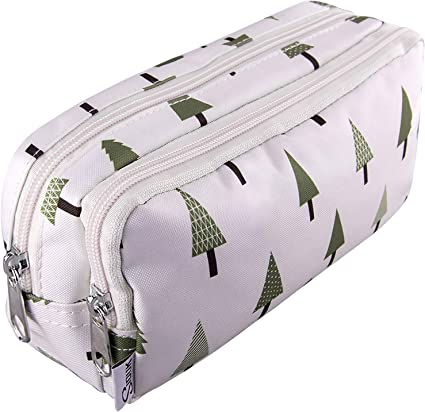 SIQUK Estuche Multifuncional Bosque Estuche Grande Bolsa para Lápices para Almacenamiento de Papelería: Amazon.es: Oficina y papelería