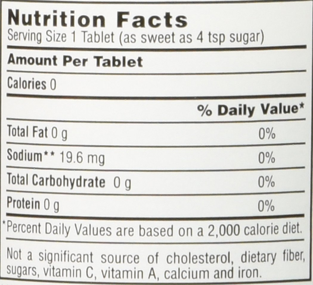 3 pack 1 grain 500 saccharin tablets by Necta Sweet (Image #2)
