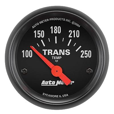 AUTO METER 2640 Z-Series Electric Transmission Temperature Gauge: Automotive